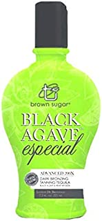 Brown Sugar Black Agave Especial Tanning Lotion with Advanced Bronzers Tan Inc. -7.5 oz