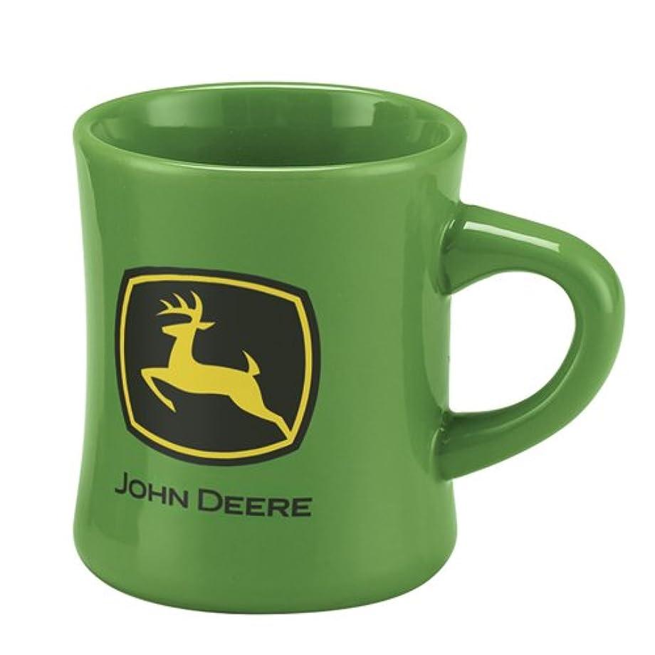 M. CORNELL IMPORTERS John Deere Stoneware Green Ceramic Tea Coffee Dinner Mug