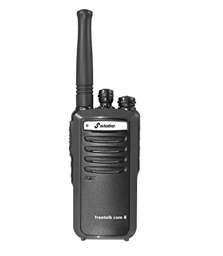 Stabo Freetalk Com II PMR-446 16channels 446.00625-446.09375MHz Two-Way radios - Walkie-Talkie (16 Canales, 446.00625-446.09375, Ión de Litio, 165 g, 55 x 27 x 120 mm, -20-50 °C)