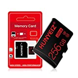 Micro SD Card 256GB High Speed Class 10 with Free SD Adapter, Memory Card Designed for Android Smartphones, Tablets and Other Compatible Devices