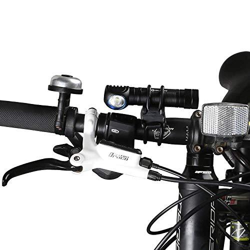 OLIGHT FB-1 Universal-Fahrradhalterung für das Radfahren, verstellbare, Flexible, elastische Halterung, Taschenlampe mit max. Durchmesser. von 10 mm bis 35 mm S30R III / M2R / R50 PRO / M1X - 6
