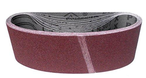 Klingspor LS 307 X Schleifband | 75 x 480 mm | 10 Stück | Körnung: 80