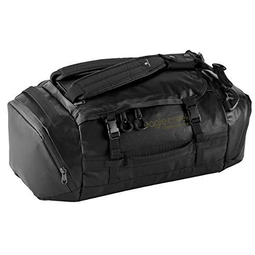 Eagle Creek Cargo Hauler - superleichte Reisetasche mit 40 L Volumen I Sporttasche fürs Fitnessstudio, Wandern und Kurztrips I abrieb- & wasserbeständiges Gewebe, Jet Black