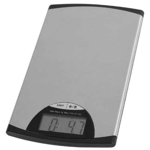 Ultra Thin Digital LCD Stainless Steel Kitchen Scale