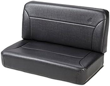 Bestop 3943701 Black Crush Trailmax II Fixed Bench Rear Seat