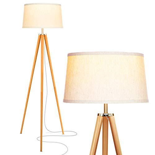 Brightech Emma LEDs Tripod bedroom Floor Lamp