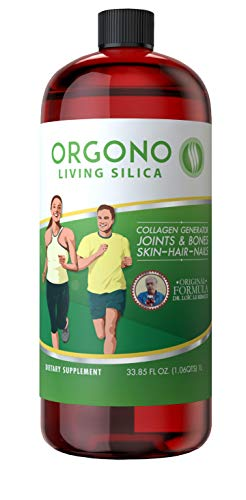 Living Silica Collagen Booster Liquid | Vegan Collagen Boosting Drink | Supports Healthy Collagen and Elastin Production for Joint & Bone Support, Glowing Skin, Strong Hair & NAI