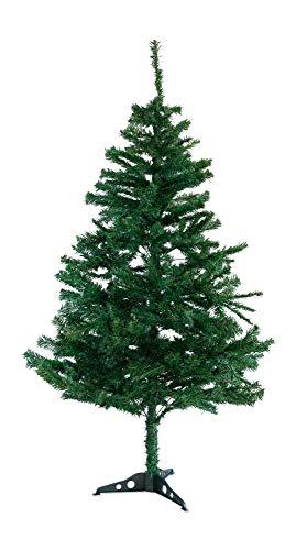 künstlicher Weihnachtsbaum Christbaum Tannenbaum mit Metallständer, Schneller Montage und Faltung (150 cm)