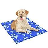 GoPetee Alfombrilla de Refrigeración para Mascotas Cama de Perro y Gato para Verano Animales Manta de Dormir Fresco...