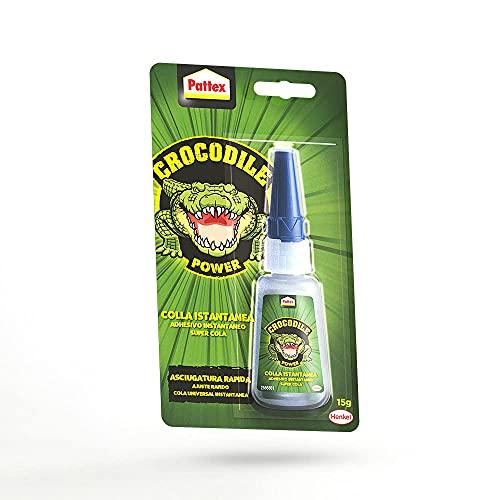 Pattex Crocodile Power Adhesivo Instantáneo, pegamento...