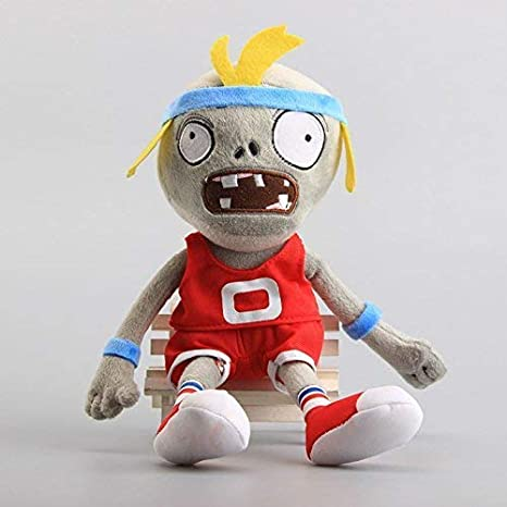 12 inch Pirate Zombie Red Toddler of Plants Vs Zombies Plush Doll Toy