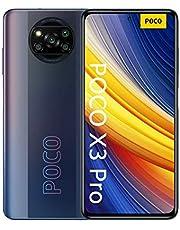 "POCO X3 Pro Smartphone RAM 6 GB ROM 128 GB 120 Hz 6,67""FHD + LCD DotDisplay Qualcomm® SnapdragonTM 860, 5160 mAh (typ) Batteria Fotocamera da 48 MP Nero [Versione globale]"