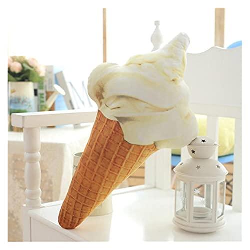 Adecuado para decoración del hogar Creativo 3D Helado Forma de heladera Muñeca Muñeca Polla de Peluche Almohada Asiento de Cama Use Decoración del hogar Regalo