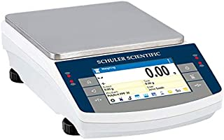 Schuler Scientific SPS-4502.TD Series Top-Loading Balance with 4500 g Capacity and 0.01 g Readability