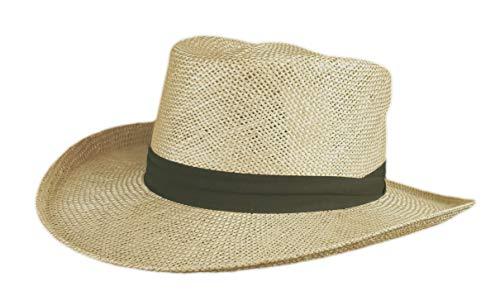 Stetson Muldoon Straw Hat - Pecan - S