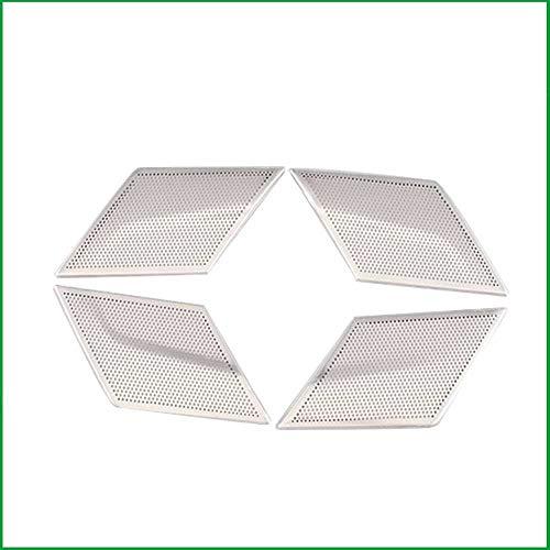 XQRYUB Autolautsprecherdekorationsabdeckung Lautsprecherdekorationsrahmen, Fit für Skoda Superb 2016-2020