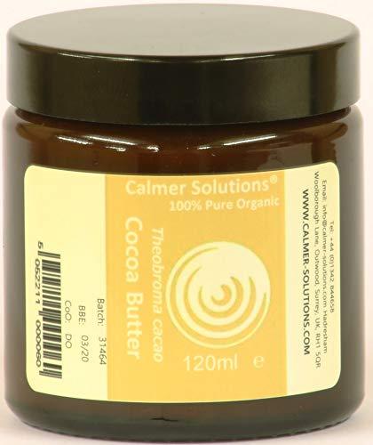 100% Pur Beurre De Cacao Biologique 120ml pot