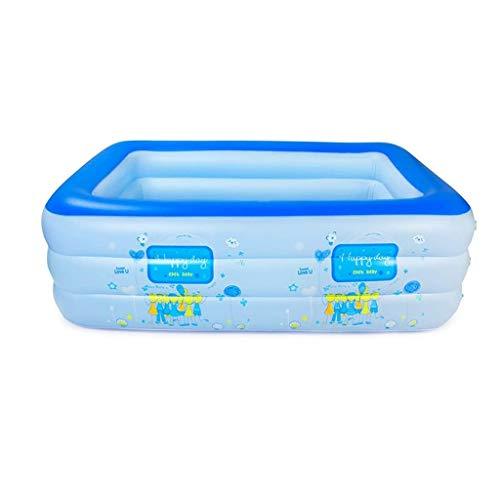 YWSZJ Piscinas for niños bañera Inflable, Océano Plegable de hidromasaje Piscina Familiar Adulto bañera al Aire Libre Pool Bola