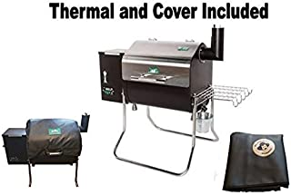 Green Mountain Grills Davy Crockett Pellet Grill - WiFi Enabled with Cover & GMG Thermal Blanket