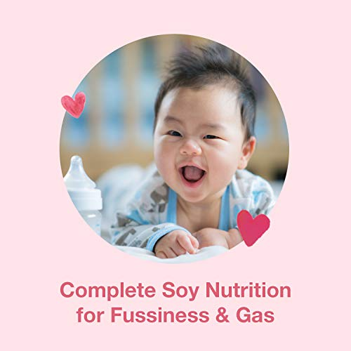 Mama Bear Soy-Based Powder Infant Formula with Iron, for Fussiness & Gas, Lactose-Free, 1.38 Pound (Pack of 1), 22 Ounce