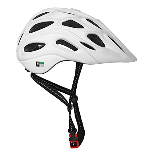 Casco de Bicicleta para Adultos Casco de Ciclismo MTB para Hombre y Mujer en Montaña Carretera Herramienta Protectora de Bicicletas Casco Ajustable Ligero Seguro con Luz