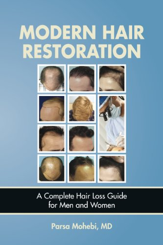 MODERN HAIR RESTORATION - A Complete Hair Loss Guide For Men And Women (English Edition)