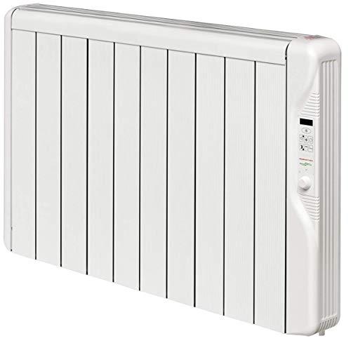 BioMetrixx RX10E Plus - Calefactor eléctrico (1250 W), color blanco