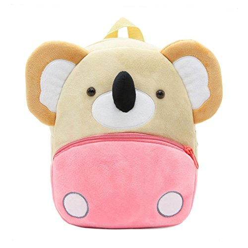 Winkey Rucksack für Kinder/ Baby, Mädchen und Jungen, niedlich, Schultasche, Umhängetasche Koala 26.5x24x10.5cm wide 20cm x height 24cm