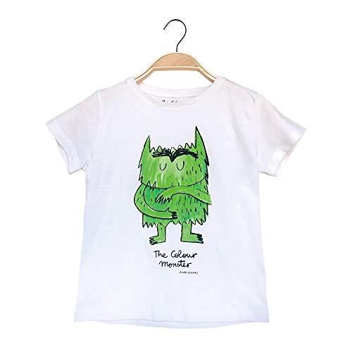 El monstruo de colores , Camiseta (Verde, 2 años)