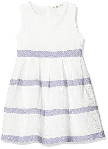 Salt & Pepper Mädchen 03133282 Kleid, Weiß (White 010), (Herstellergröße: 116)