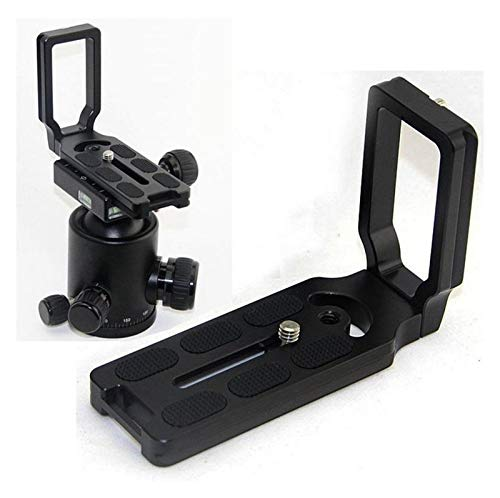 Zhice Soporte de Placa L de liberación rápida para Canon EOS 1200D 760D 750D 700D 650D 600D 70D 60D 5DS 6D 7D 5D Mark II/III