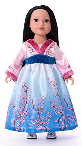 Little Adventures Asian Princess Doll Dress