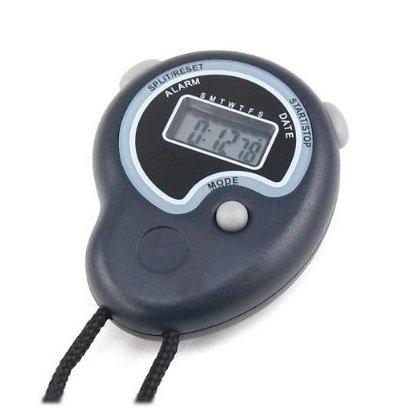 SODIAL(TM) Cronometro digitale a mano con allarme