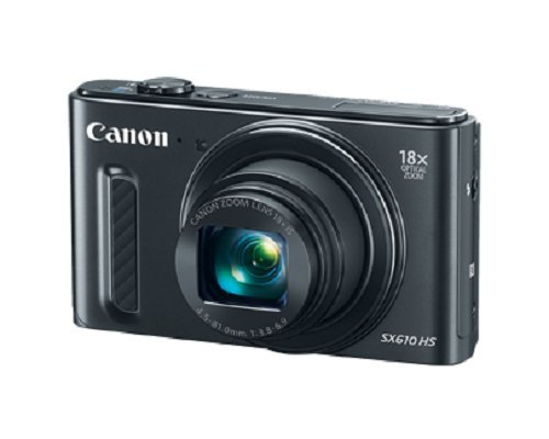 Canon PowerShot SX610 HS - WiFi Enabled (Black)