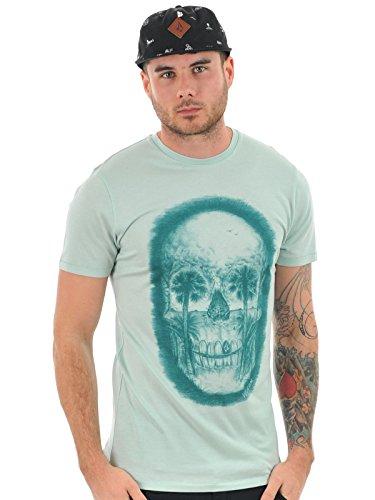 Volcom Herren Feathers Short Sleeve Lightweight T-Shirt, Coastal Blue, S