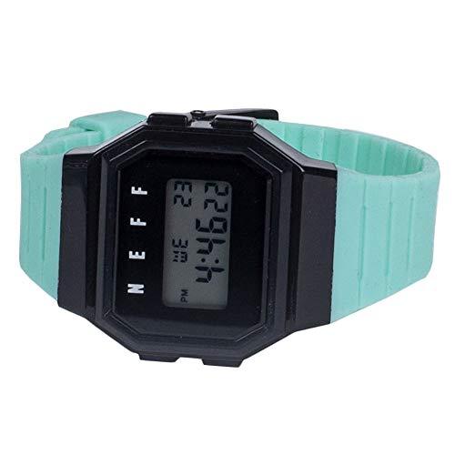 Neff Unisex Flava XL Watch Turquoise Black