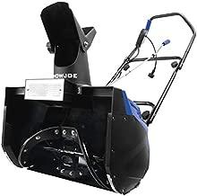 Snow Joe SJ621 Electric Single Stage Snow Thrower | 18-Inch | 13.5 Amp Motor | Headlights