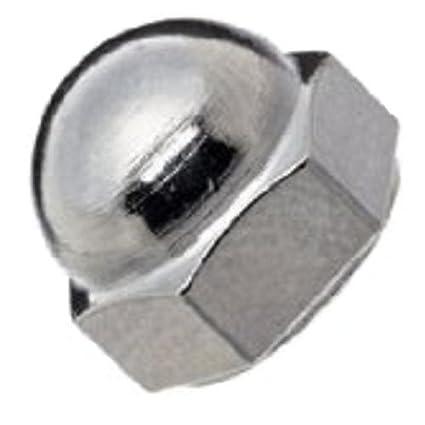 18-8 Stainless Steel Acorn Nut Right Hand Threads 5//8-18 Threads Grade 8