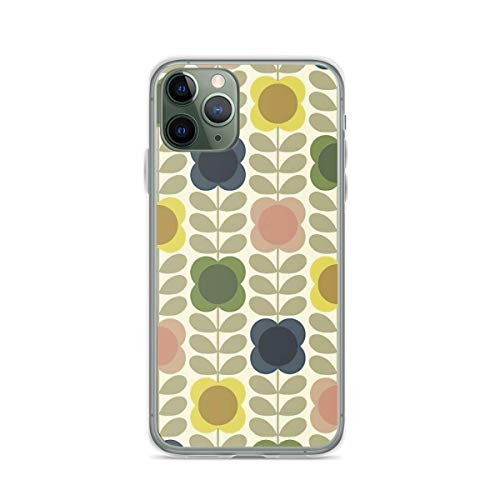 Phone Case Orla Kiely Flowes Design Compatible with iPhone 6 6s 7 8 X Xs Xr 11 12 Pro Max Mini Se 2020 Anti Shockproof Tested