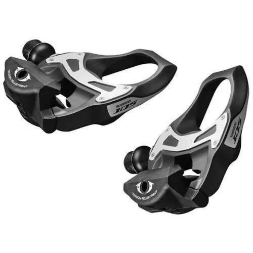 Pedal Clip Shimano Speed 105 Pd-5800 Carbon Com Tacos Preto