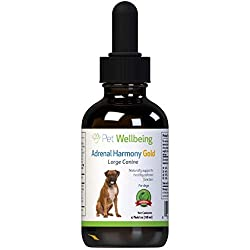 Pet Wellbeing - Adrenal Harmony - Natural Support for Adrenal Dysfunction and Cushings in Dogs