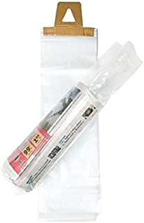 ClearBags 6 x 19 Newspaper Bags (1000 Bags) | Clear Plastic Poly Bags for Newspapers | Cardboard Header Perforated Easy Tear Off Design | Protect Against Rain Weather Bugs | .8 Mil LDPE | NPB2