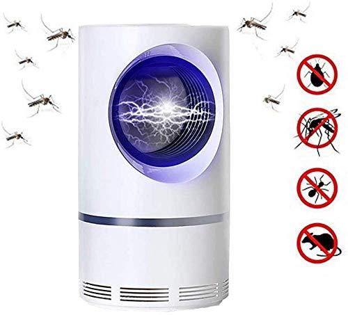 Lámpara Para Matar Mosquitos ZLNX, Atrapador De Insectos UV, Atrapador De Insectos Portátil Recargable USB, Mata Insectos, Mata Mosquitos Impermeable, Seguro Ahorro De Energía Cómodo, Silencioso, Salu