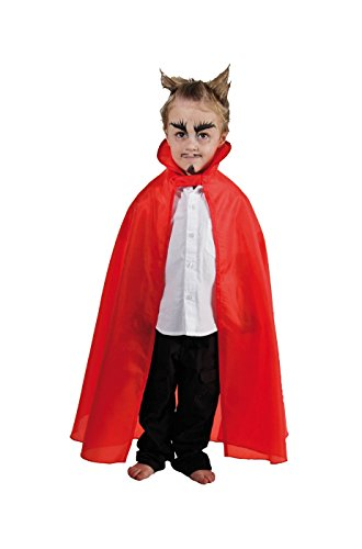 Cape de Diable rouge Enfant (85cm)