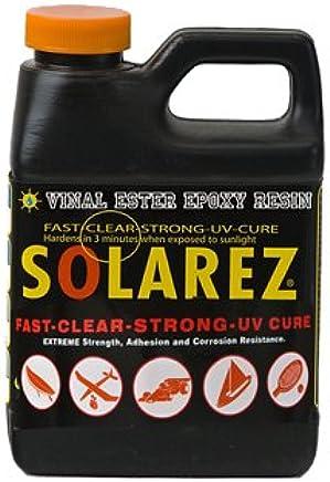 Pint Lubricants and Oils SOLAREZ UV Cure Vinyl Ester Epoxy Resin