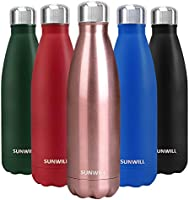 10% off SUNWILL Insulated Stainless Steel Water Bottles