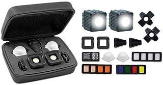 Lume Cube 2.0 Professional Beleuchtungsset   2 Leuchten + ALLE Diffusoren und Modifikatoren