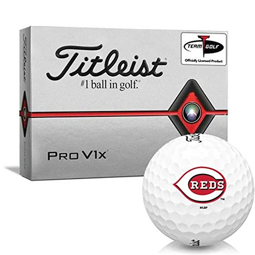 Titleist Pro V1x Cincinnati Reds Golf Balls