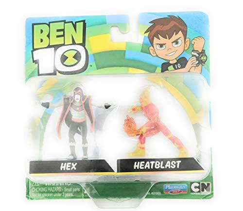 PlayMates Ben Ten Hex and Heatblast