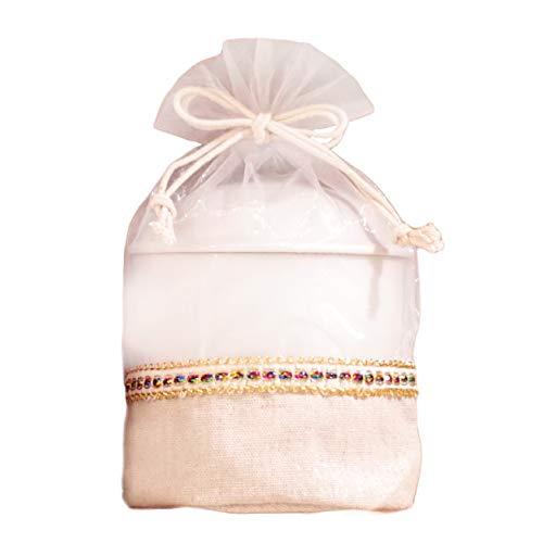 ペット骨壷用 骨袋 覆袋 骨壷カバー きらきらオーガンジー 5寸サイズ